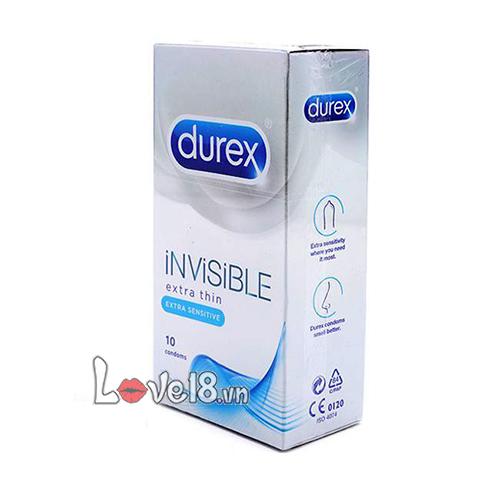 Bao Cao Su Durex Invisible DR25 giá bao nhiêu?