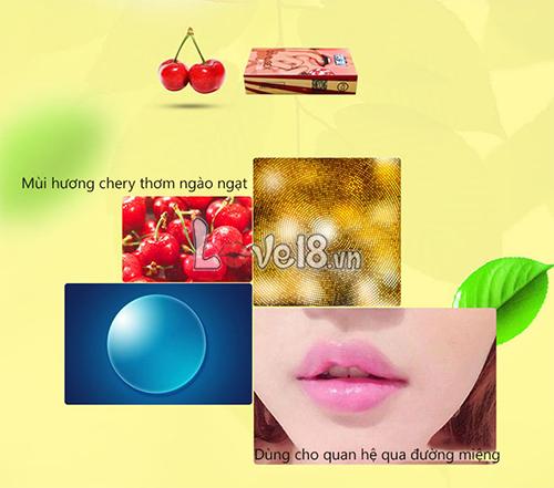 Bao Cao Su Quan Hệ Bằng Miệng Hương Cherry CD04A tại tp Hồ Chí Minh