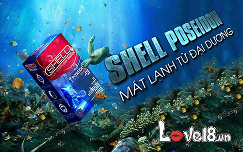 Bao Cao Su Shell Poseidon giá bao nhiêu?