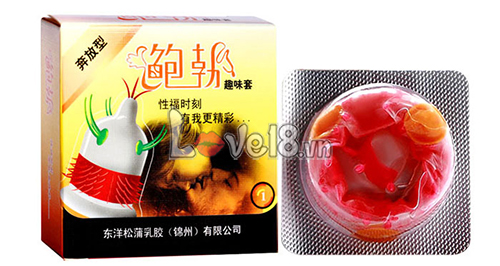 Bao Cao Su Siêu Gai Râu giá rẻ tại tphcm