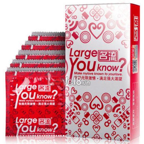 Bao Cao Su Size Lớn Large You Know CD25 giá bao nhiêu?