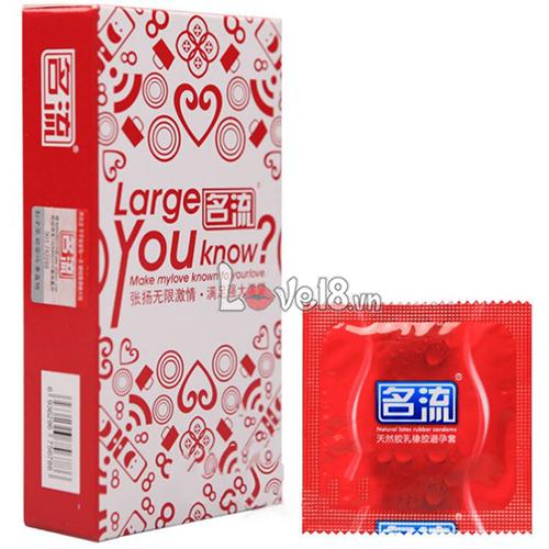 Bao Cao Su Size Lớn Large You Know CD25 giá rẻ