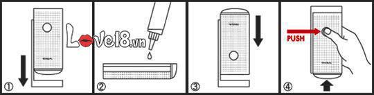 Cốc thủ dâm cao cấp tách đôi Tenga Flip 2G DC74B cách sử dụng