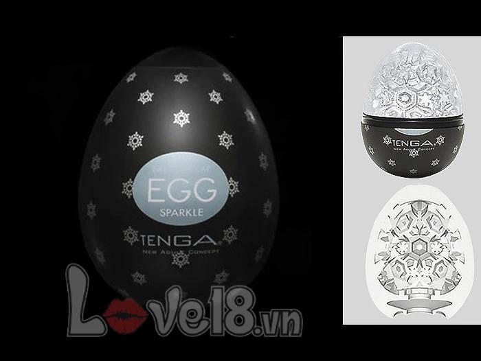 Trứng thủ dâm Tenga Egg Black DC18B silicon cao cấp