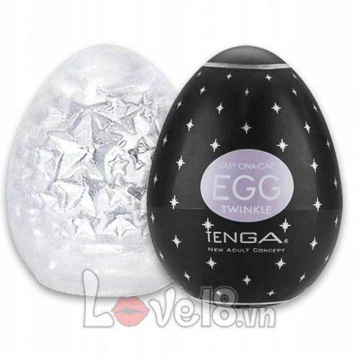 Trứng thủ dâm Tenga Egg Black DC18B