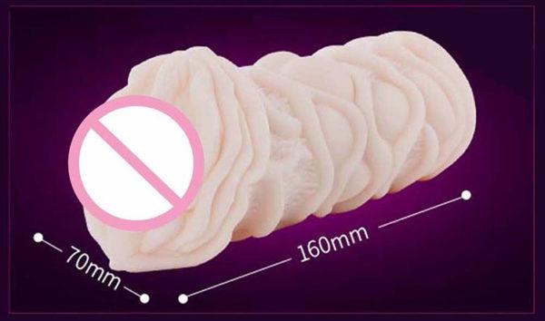 Sex toy âm đạo trần ruột 3D của thương hiệu Leten nổi tiếng