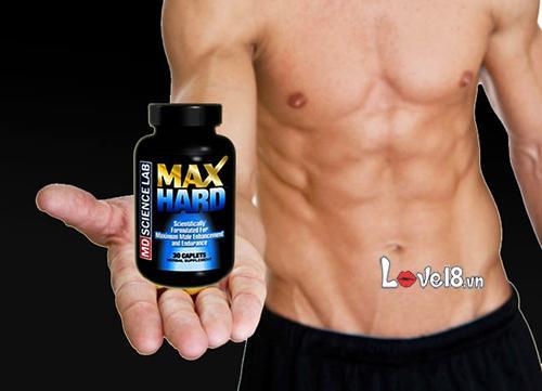 Thuốc Tăng Thời Gian Quan Hệ Max Hard (SL03)