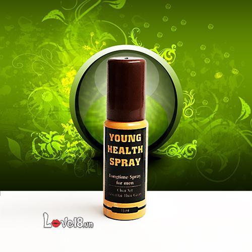 Chai Xịt Nhân Sâm Kéo Dài Young Health (YH15)