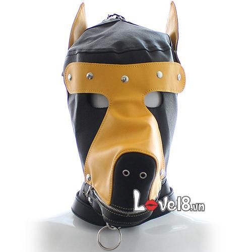 Mặt nạ bạo dâm hình đầu chó Sói BZ10A bdsm
