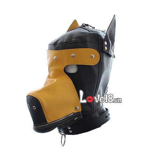 Mặt nạ bạo dâm hình đầu chó Sói BZ10A tại tphcm