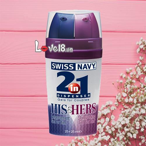 Gel kéo dài thời gian Swiss Navy 2 in 1 G04 giá rẻ tại Hà Nội