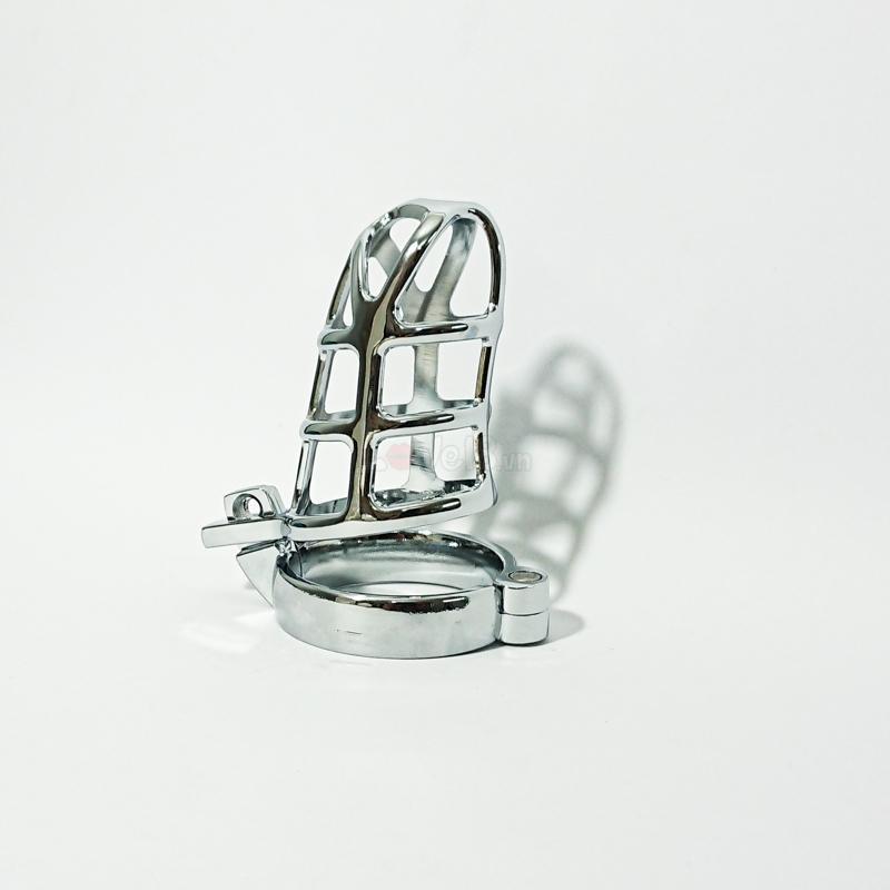 Khóa dương vật bằng kim loại thép không gỉ BZ12 chung thủy