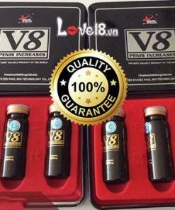 Thảo Dược Hỗ Trợ Cương Cứng V8 USA (V800)