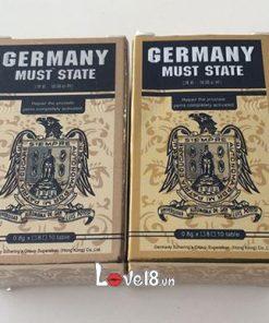 Cương Cứng Hiệu Quả Germany Must State (DC69)