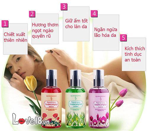 Dầu massage cơ thể hương hoa tự nhiên quyến rũ G12A giá rẻ
