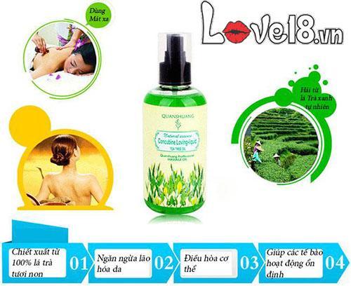 Dầu massage cơ thể hương hoa tự nhiên quyến rũ G12A tại Hà Nội