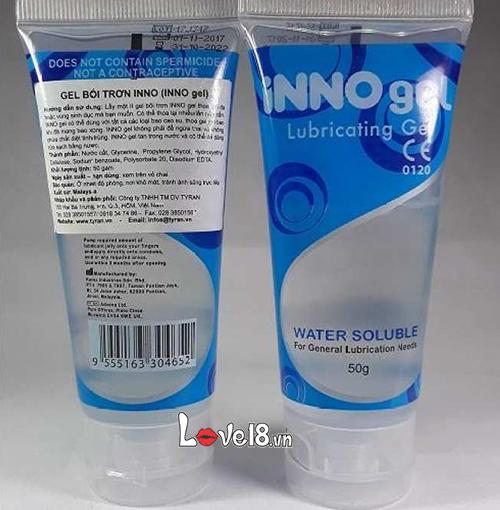 Gel bôi trơn gốc nước INNO1 giá bao nhiêu?