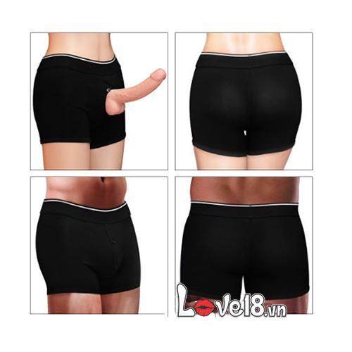 quần short gắn dương vật tiện lợi