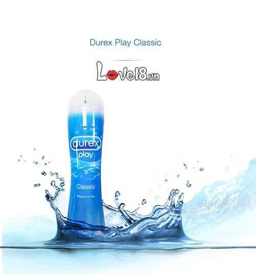 Gel bôi trơn Durex Play Classic 100ml G19B tan trong nước để vệ sinh