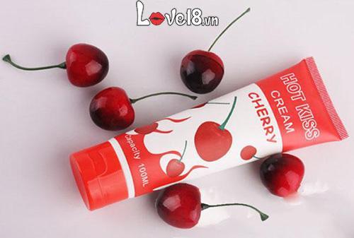 Gel bôi trơn Hot Kiss Cream Cherry G01B chính hãng