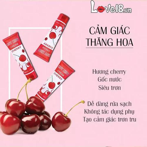 Gel bôi trơn Hot Kiss Cream Cherry G01B tại tphcm