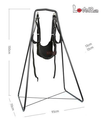 kích thước Bộ ghế treo xích đu tình yêu Acacia 3 in 1 BZ81